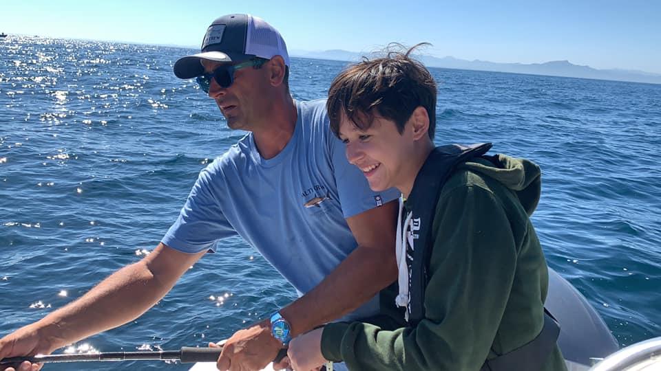 Lucas 13 ans vit un rêve de pêcheur